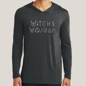 Witchy Woman - Adult Tri-Blend Long Sleeve Hoodie Thumbnail