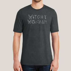Witchy Woman - Adult Soft Tri-Blend T Thumbnail
