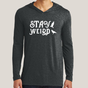 Stay Weird - Adult Tri-Blend Long Sleeve Hoodie Thumbnail