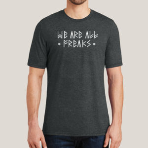 We Are All Freaks - Adult Soft Tri-Blend T Thumbnail
