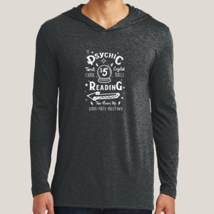 Psychic Reading - Adult Tri-Blend Long Sleeve Hoodie Thumbnail