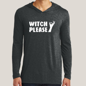 Witch Please - Adult Tri-Blend Long Sleeve Hoodie Thumbnail