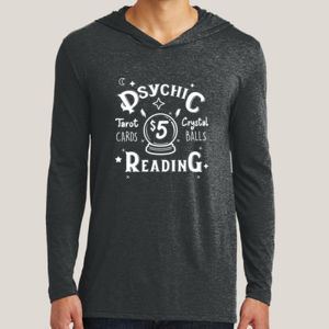 Psychic Reading 2 - Adult Tri-Blend Long Sleeve Hoodie Thumbnail