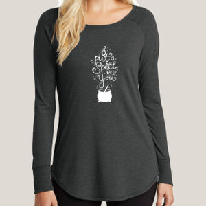 Put a Spell on You - Ladies Long Sleeve Tri Blend T Thumbnail