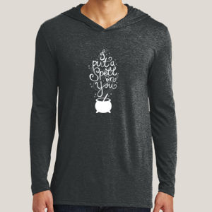 Put a Spell on You - Adult Tri-Blend Long Sleeve Hoodie Thumbnail