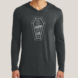 No Such Thing as Death - Adult Tri-Blend Long Sleeve Hoodie Thumbnail