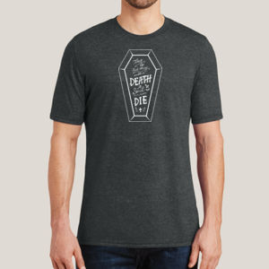 No Such Thing as Death - Adult Soft Tri-Blend T Thumbnail