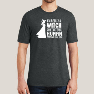 Really a Witch 2 - Adult Soft Tri-Blend T Thumbnail