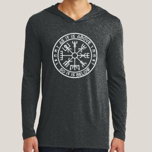 As It Is Above - Adult Tri-Blend Long Sleeve Hoodie Thumbnail